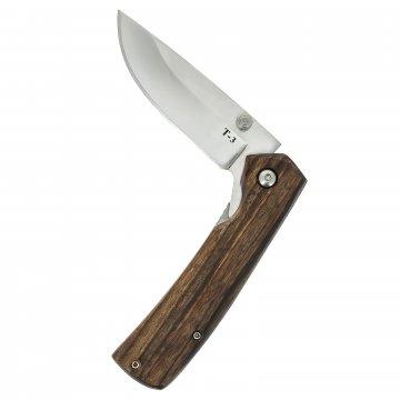 Складной нож Т-3 (сталь Х50CrMoV15, рукоять орех)