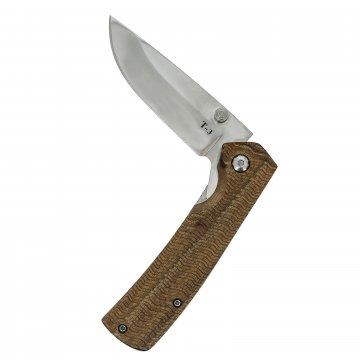 Складной нож Т-3 (сталь Х50CrMoV15, рукоять черный орех)