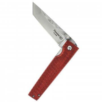 Складной нож Танто (сталь Х12МФ, рукоять граб)