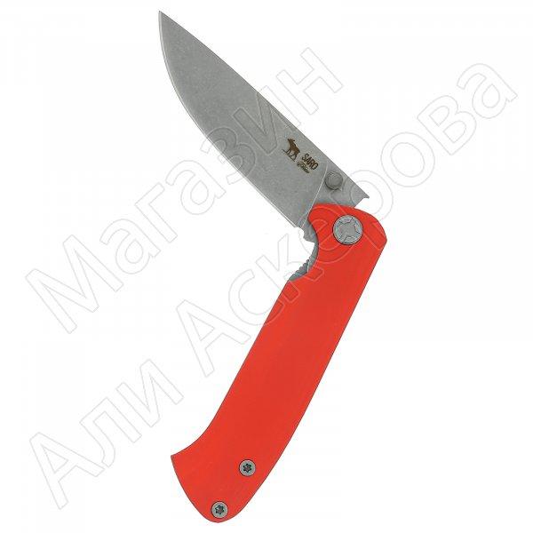 Складной нож Чиж (сталь K110, рукоять G10)