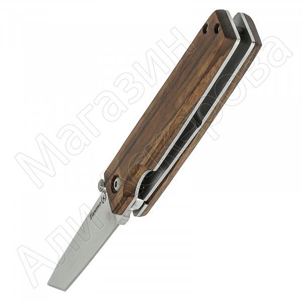 Складной нож Танто (сталь Х50CrMoV15, рукоять орех)