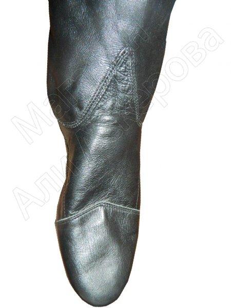 Кавказские ичиги из натуральной козлиной кожи ручной работы мастера Юсупа Исрафилова