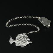 Серебряный ионизатор воды Рыбка арт.10347