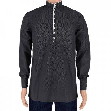 Мужская рубашка в стиле этно от Liza Gabarati