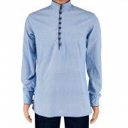Кавказская мужская национальная рубашка арт.12259