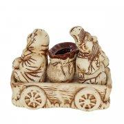 """Керамический набор для специй """"Казак с казачкой"""" арт.8988"""