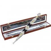 Кубачинский подарочный набор №22: серебряный кинжал в футляре