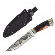 "Кизлярский нож туристический ""Беркут"" (сталь - 65Х13, рукоять - дерево) арт.2338"