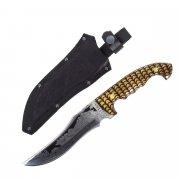 Разделочный нож большой Геба (сталь 65Х13, рукоять дерево)