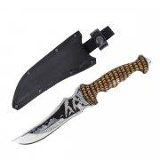 Разделочный нож большой Орион (сталь 65Х13, рукоять дерево)
