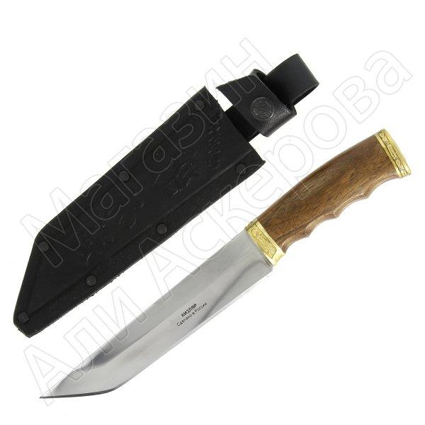 Разделочный нож Самурай (сталь Х12МФ, рукоять дерево)