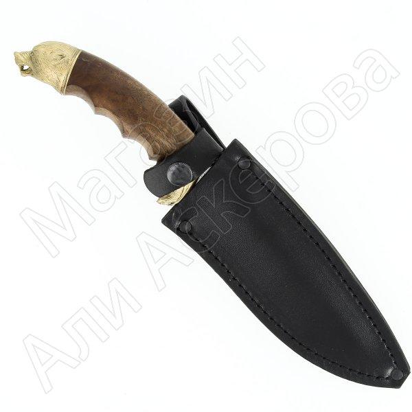 Разделочный нож Домбай (сталь Х12МФ, рукоять дерево)