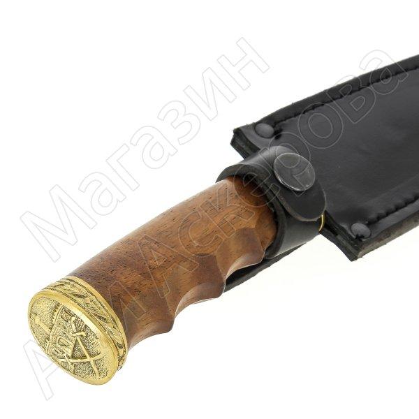 Разделочный нож Клык (сталь Х12МФ, рукоять дерево)