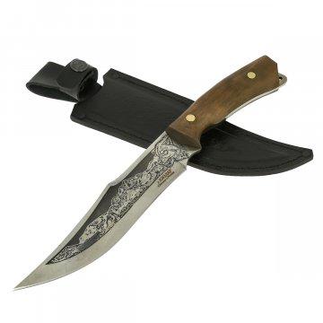 Нож Егерский Кизляр (сталь 65Х13, рукоять дерево)