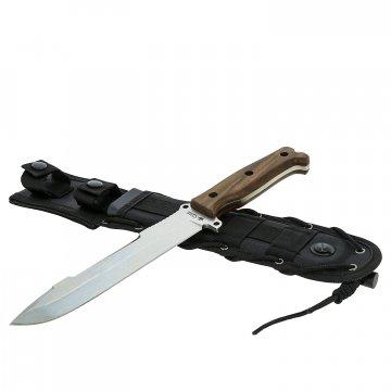 Нож для выживания Survivalist X Kizlyar Supreme (сталь AUS-8 SW, рукоять дерево)