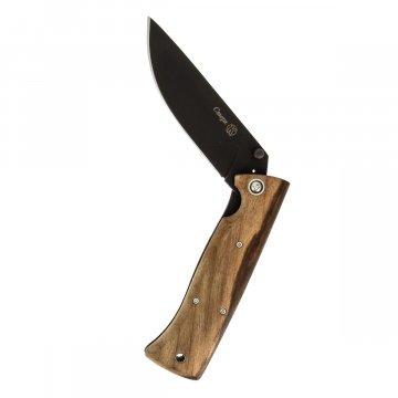 Складной нож Стерх Кизляр (сталь ШХ15, рукоять дерево)