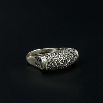 Кубачинское серебряное кольцо