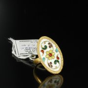 Кубачинское серебряное кольцо ручной работы арт.5503