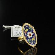 Кубачинское серебряное кольцо ручной работы арт.5504