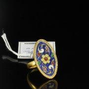 Кубачинское серебряное кольцо ручной работы арт.5505