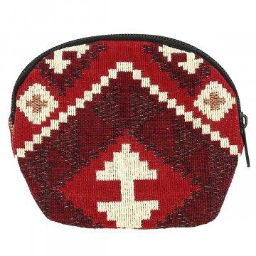 Кошелек в этно стиле из ткани (15х11 см)
