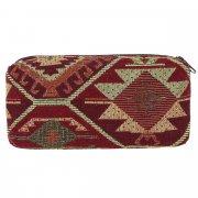 Косметичка в этно стиле из ткани ручной работы арт.10269