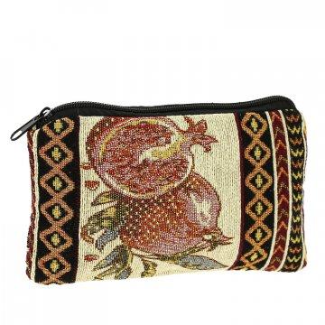 Косметичка в этно стиле из ткани (20х12 см)