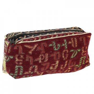Косметичка в этно стиле из ткани (19х11 см)