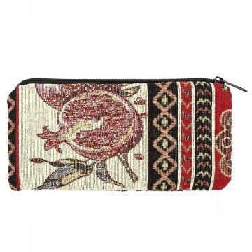 Косметичка в этно стиле из ткани (18х10 см)