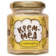 Натуральный крем-мёд с имбирем