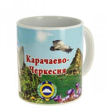 "Сувенирная кружка ""Карачаево-Черкесия"""