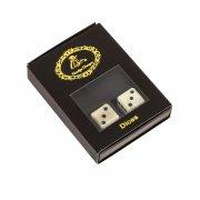 Игральные кубики-зарики (слоновая кость)