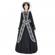 Керамическая кукла в грузинском национальном костюме (большая)