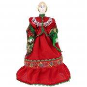 Керамическая кукла Казачка в национальном костюме (большая)