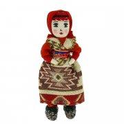 Текстильная кукла ручной работы арт.6542