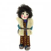 Текстильная кукла ручной работы арт.6543