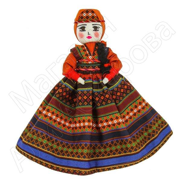 Текстильная кукла ручной работы (средняя)