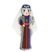 Текстильная кукла ручной работы (средняя) арт.6548