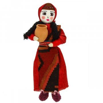 Текстильная кукла ручной работы (большая)