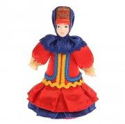 """Керамическая кукла """"Казачка в праздничном наряде"""""""