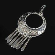 Кубачинский серебряный кулон ручной работы арт.8770