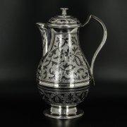 Серебряный кувшин Кубачи ручной работы арт.9810