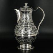 Серебряный кувшин Кубачи ручной работы арт.9811
