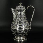 Серебряный кувшин Кубачи ручной работы арт.9812