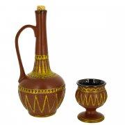 """Керамический набор для вина """"Армения"""" арт.9836"""