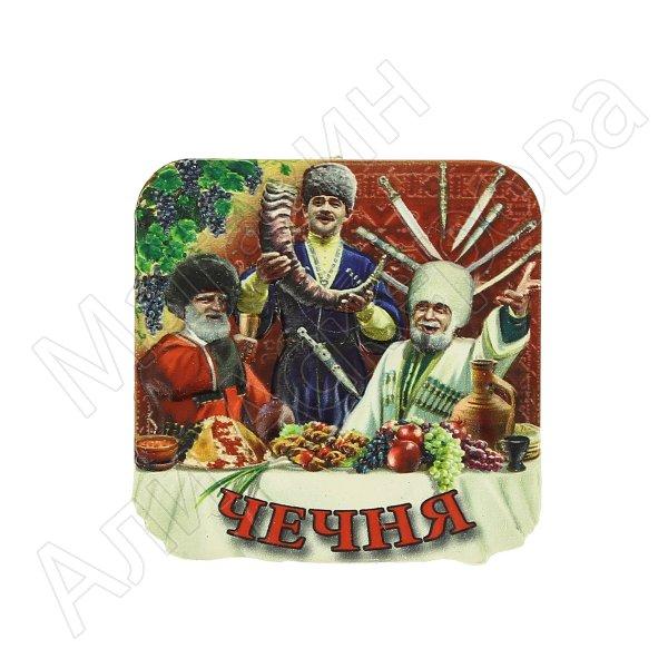 """Магнитик керамический полистоун """"Чечня""""  3765"""