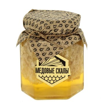 "Натуральный мёд с забрусом ""Медовые скалы"" (Дагестан)"