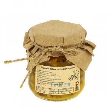 Натуральный мёд горный с грецким орехом