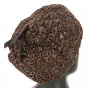 Мужская каракулевая шапка ручной работы (сорт - сур) арт.11966