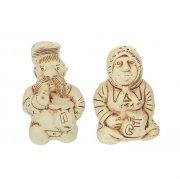 """Керамический набор для специй """"Казак с казачкой"""" арт.8985"""